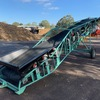 Under Auction  - ELEVATOR TOTALLY REFURBISHED - Transfer Conveyor 8.8 metres long x 900 wide belt V Trough on New Trough Rollers. - 2% Buyers Premium on all Lots
