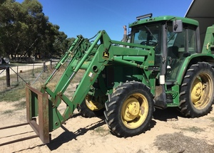 John Deere 6310 Tractor with FEL