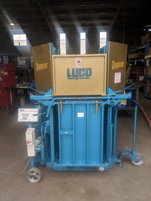 Woolpress - Lyco Dominator, Blue / Gold Annervesry 240 Volt with PC 2000 Scale head, Fully Refurbished 2 Year Warranty !!!