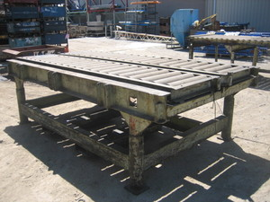 Conveyor - Heavy Duty Roller Table approx 290mm x 1600mm x 900mm