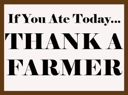 Don't thank a Farmer - By Nathan Scott