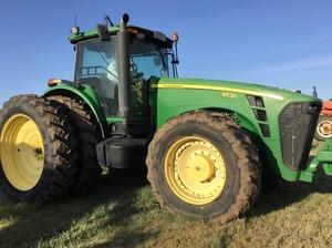 2009 John Deere 8530 tractor for sale