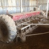 Damaged 20 Row Combine with off set disc undercarriage - Damaged Make an offer