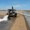 Portable irrigation pump.