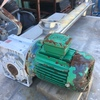 Stainless steel cased unloading auger