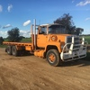 Ford louie tray truck