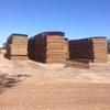 Clover & Rye Grass Hay 8x4x3 275 x 650 KG Bales.