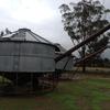 2 x 27 tonne Keogh PTO transportable silos