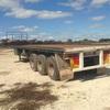 Hallmark 40 Ft Tri axle semi trailer