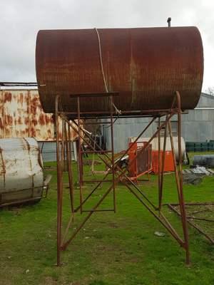 Diesel tank stand