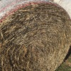 Certified organic wheaten straw, 8x4x3 big squares and 5x4 rolls