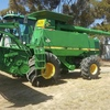 John Deere CTS Rice Header with 30ft Front & Trailer ##PRICE REDUCED##