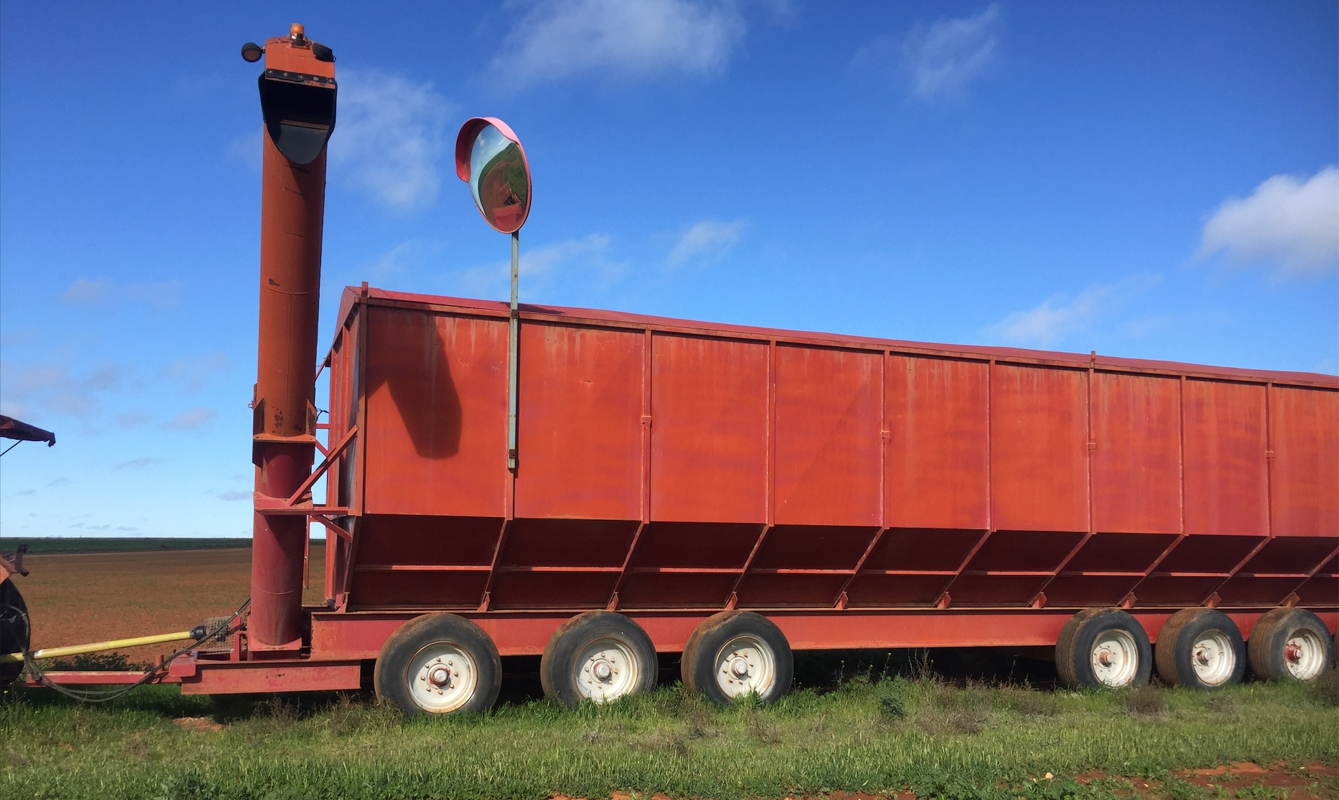 100tonne Mother Bin For Sale w 16Inch Auger