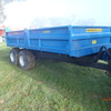 Low Ground Pressure 8Ton Tipping Trailer