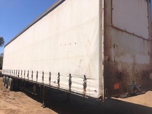 45' Tri Axle Trailer - Road Train Lead