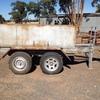 Fuel Trailer 1700 ltr on Bogie Axel trailer
