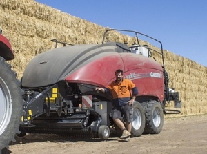 Hay a big deal on Scott Somers Wimmera Farm