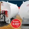 Farm Tanks - Single Walled Fuel Tanks 4500 & 8500 L available