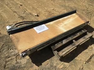 Under Auction  - Conveyor Crescent Top -  500 Wide Crescent Top Belt 2100 Long -  2% Buyers Premium on all lots