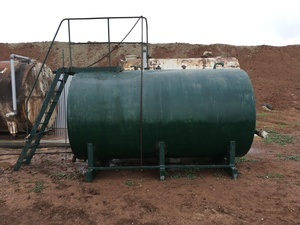 10,000 litre Diesel tank