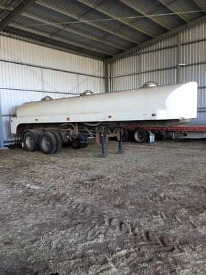 14,000 Ltr Water Tanker Trailer
