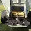 2000 Belt or Chain K-Form Spreader, All Hydraulic or Ground Drive Belt with Hydraulic Spinners