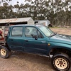 Auction Item Hilux 4x4 with 400L fire fighting slip on unit