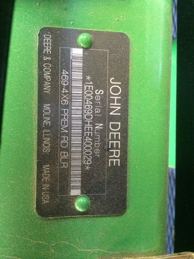John Deere 469 Premium Round Baler - Silage Special