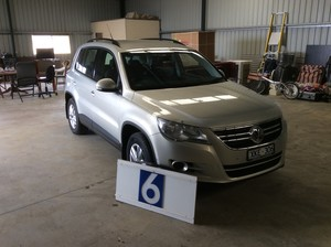Under Auction - 2009 VW Tiguan - 2% + GST Buyers Premium On All Lots