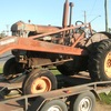 fordson with p6 perkins 6 motor, horn draulic loader and 3 point linkage