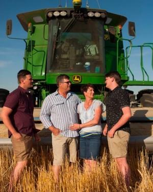 Innovative - SA Farming family has plenty going on