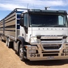 2013 Iveco Stralis 24' Tipping Tray with Livestock Trailers & Grain Trailers