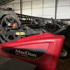 2014 D65 Macdon 30ft double knife drive windrowing front
