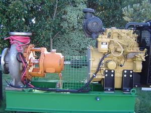 Caterpillar C 1.1 Engine & Irrigation Pump