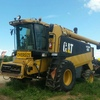 Cat Lexion 480 Header With 36ft Triple Deck 972 MacDon