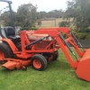 B1750 KUBOTA MOWER / TRACTOR / LOADER FOR SALE