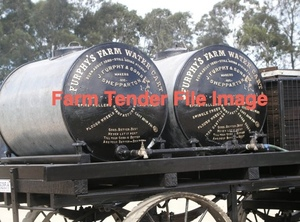 Skid Type Furphy Tank With new Barrel