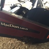 Macdon A40D Sickle cut Mower Conditioner Front With Steel Rollers, 2010 Model.