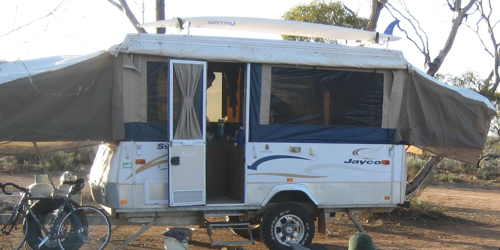 Brilliant Used 2001 Jayco Swan Outback For Sale
