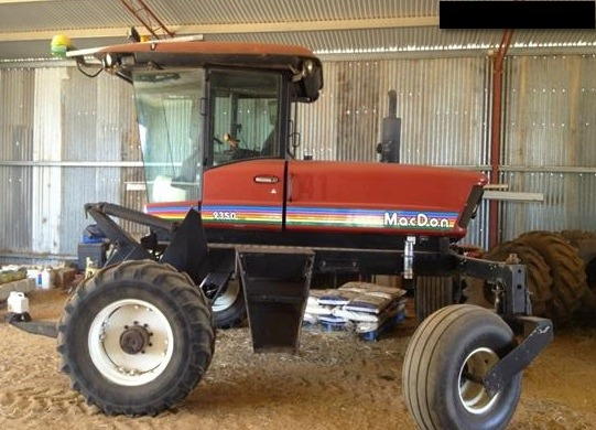 MacDon 9350 Turbo Windrower For Sale
