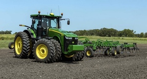 John Deere provides new levels of machine automation and data sharing.