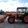 Kubota M105X Tractor with FEL