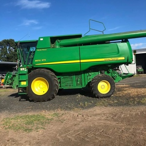 2009 John Deere 9670 STS with 30ft Front & Trailer ##PRICE REDUCED##