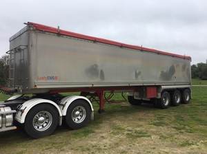 2004 Lusty 36' x 6' EMS TOA Aluminum Tipper ##PRICE REDUCED##