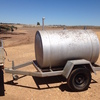 900ltr Fuel Trailer Single Axel