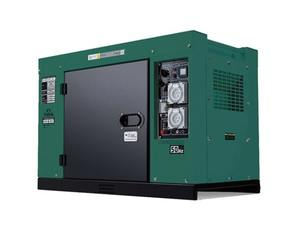 DIESEL GENERATOR COMMODORE 8KVA SILENCED, 2 WIRE START FOR AUTO BATTERY CHARGING, OFF GRID