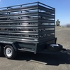 Tandem Trailer With Removable Stock Crate