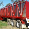 1995 Freighter 45 ft Tri-axle Semi-Trailer with Single Deck Cattle Crate