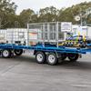 trailer suitable for chemical handler
