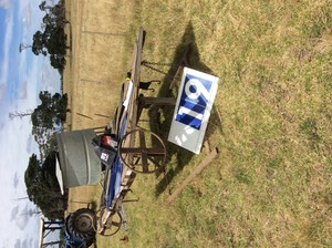 Under Auction - Bull Tipping Table - 2% + GST Buyers Premium On All Lots